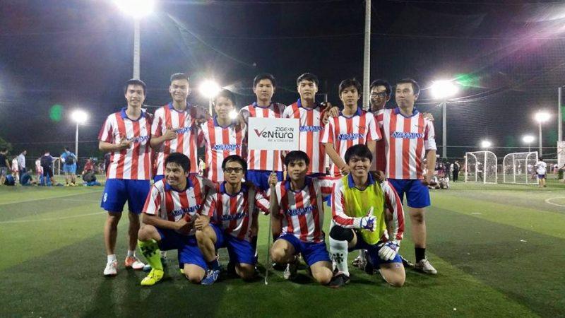 Sôi động mùa giải bóng đá 2015 cùng ZIGExN VeNtura
